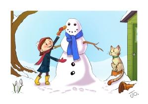 Sadie & Jack - Snowman