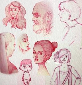 Face studies2