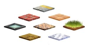 Isometric textures