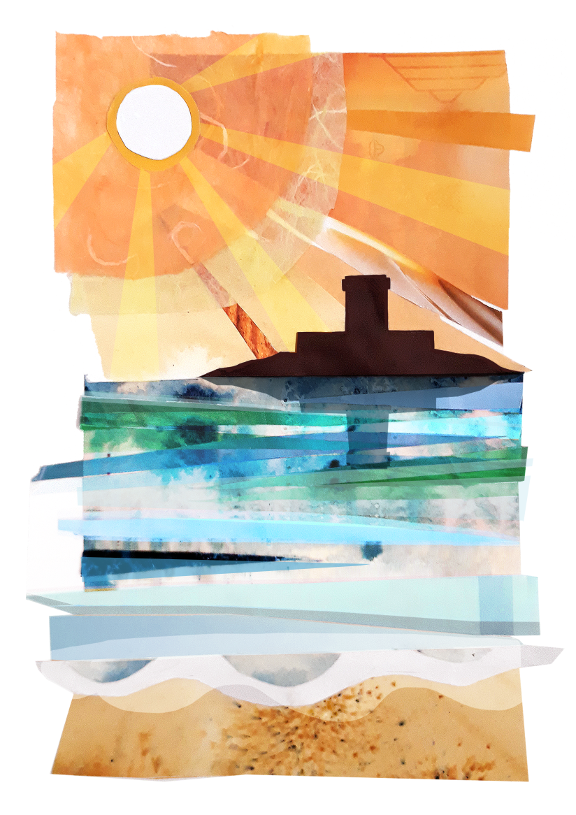 Sunset Collage Print Version